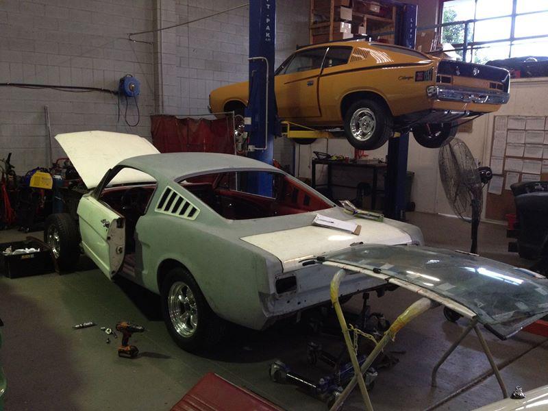 1965 Ford Mustang Fastback - Classic Car Restoration - Australia - Brisbane - Ol' School Garage (4).jpg