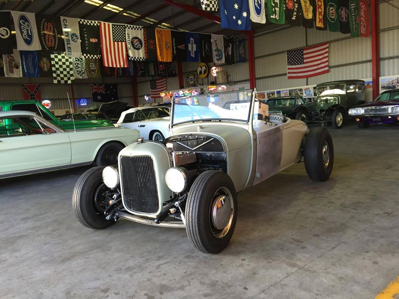 1929 Ford Model A Roadster - Restoration - Ol' School Garage (1).jpg