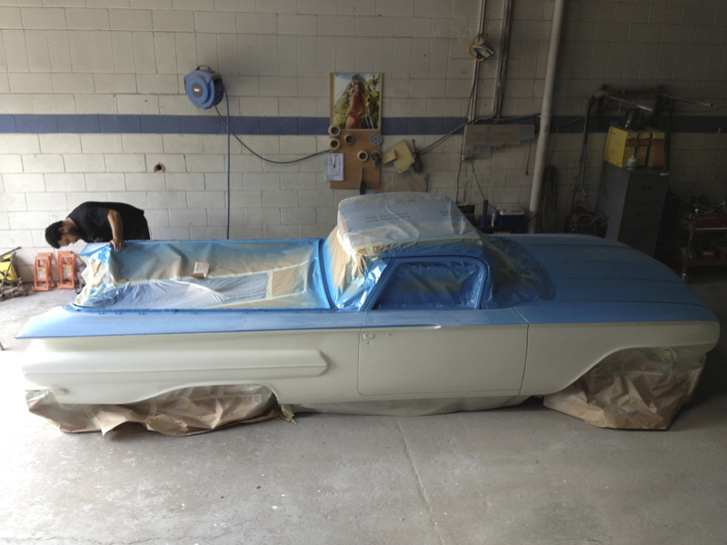 1960 Chevrolet El Camino Restoration - Ol' School Garage (95).jpg