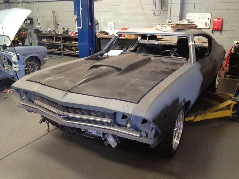 1969 Chevrolet Chevelle restoration - resto mod - Brisbane - Ol' School Garage (21).jpg