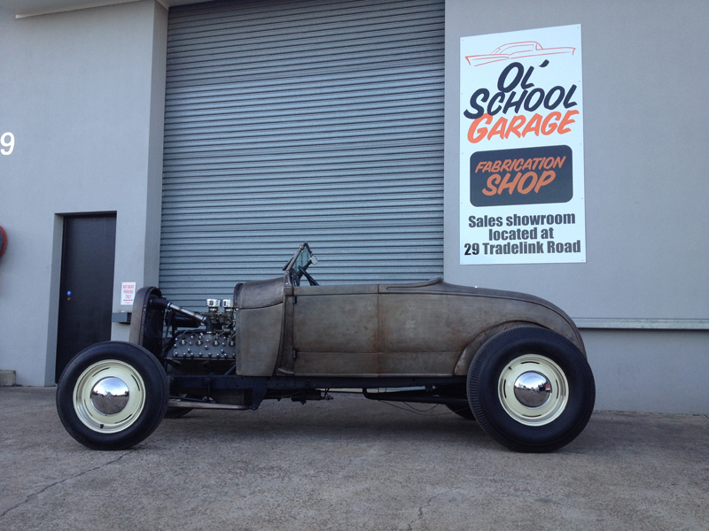 1929 Ford Model A Roadster - Hot Rod - Restoration - Ol' School Garage (59).jpg
