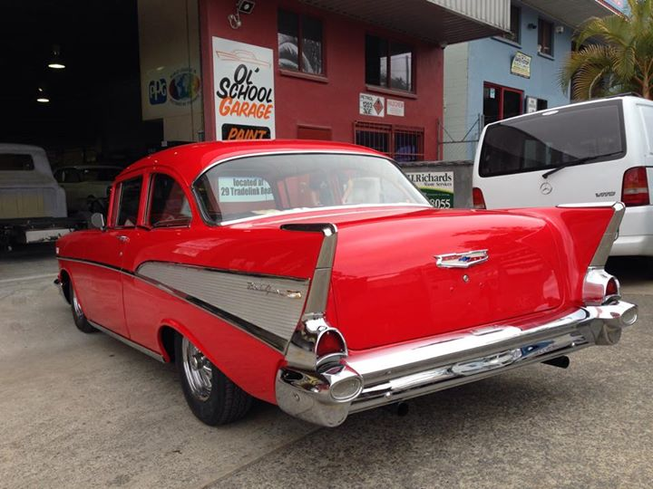 1957 Chevrolet 2 door post for sale - ol' school garage - australia (3).jpg