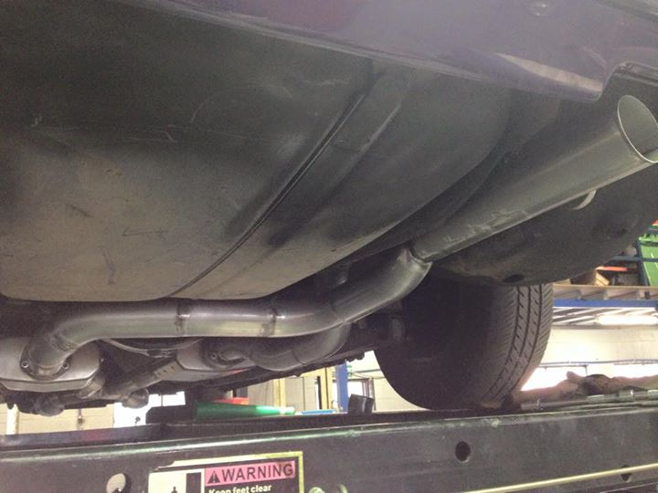 Falcon XE custom exhaust fabrication - ol' school garage (6).jpg