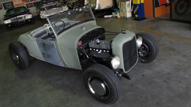 1929 Ford Model A Roadster - Restoration - Ol' School Garage (16).jpg