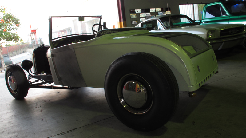 1929 Ford Model A Roadster - Restoration - Ol' School Garage (20).jpg