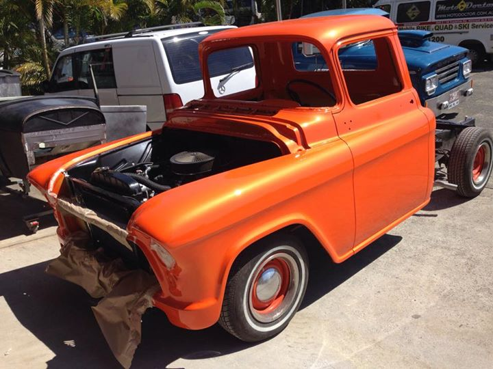 1955 Chevrolet Pickup Truck - Respray Orange - Ol' School Garage (4).jpg