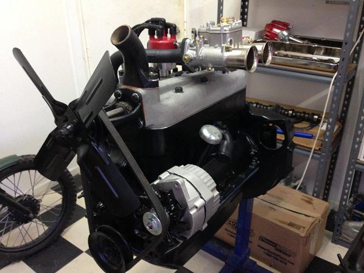 1930 Ford Tudor Engine Build - DCOE Carby - Ol' School Garage (4).jpg