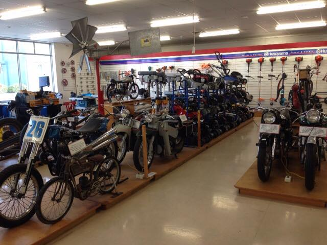 This fantastic auto collection is scattered amongst the hardware store free for everyone to see