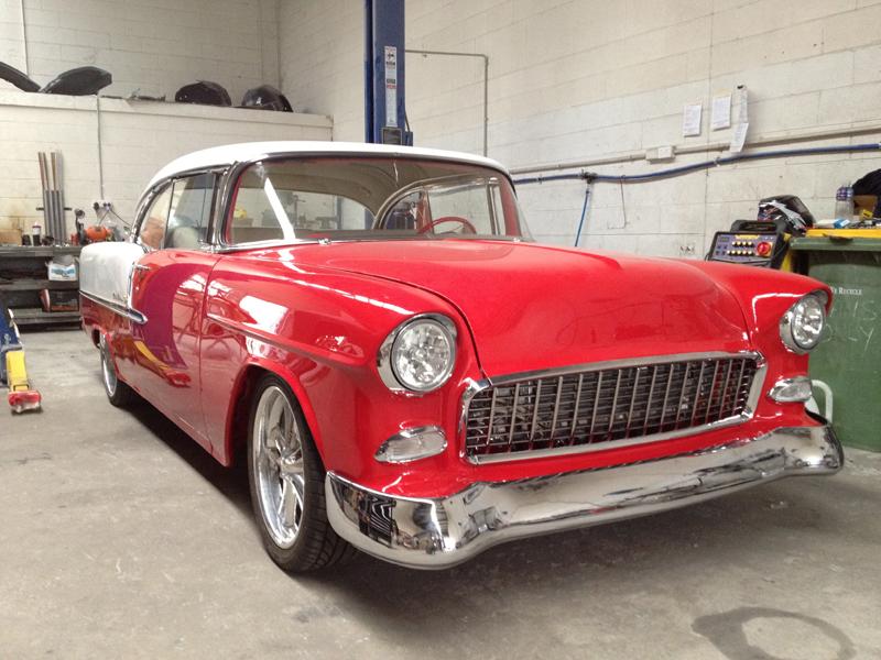 1955 55 Chevrolet Chevy Bel Air Restoration - Ol' School Garage (40).jpg
