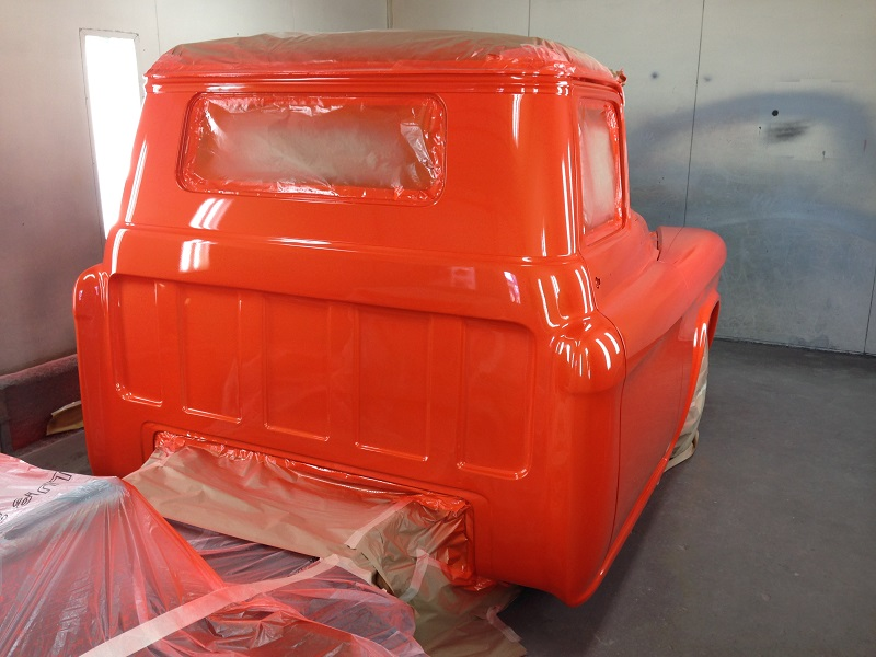 1955 Chevrolet PIckup Truck Restoration - Ol' School Garage (102).JPG