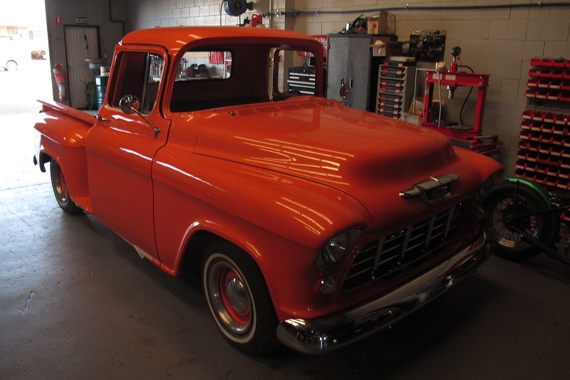 1955 Chevrolet PIckup Truck Restoration - Ol' School Garage (120).JPG