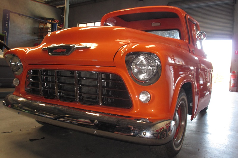 1955 Chevrolet PIckup Truck Restoration - Ol' School Garage (122).JPG
