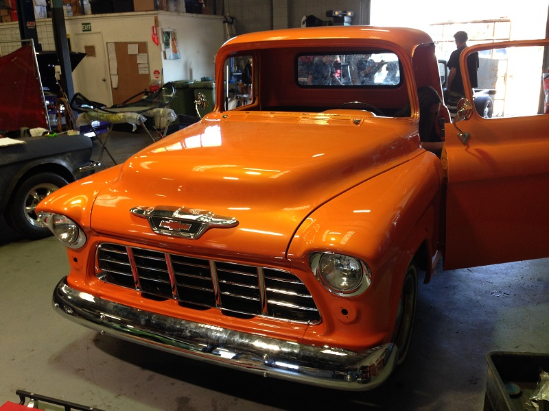 1955 Chevrolet PIckup Truck Restoration - Ol' School Garage (107).JPG