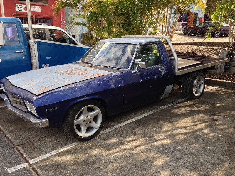 Holden HJ ute 1 tonner Restoration - Ol' School Garage (11).JPG