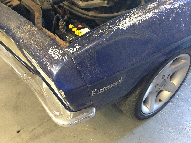Holden HJ ute 1 tonner Restoration - Ol' School Garage (25).JPG