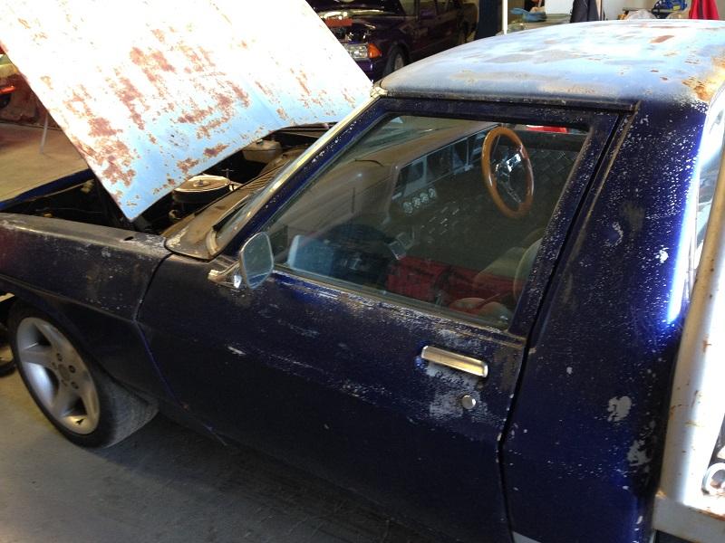 Holden HJ ute 1 tonner Restoration - Ol' School Garage (23).JPG