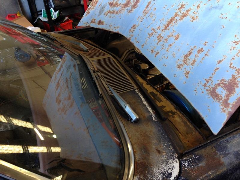 Holden HJ ute 1 tonner Restoration - Ol' School Garage (16).JPG