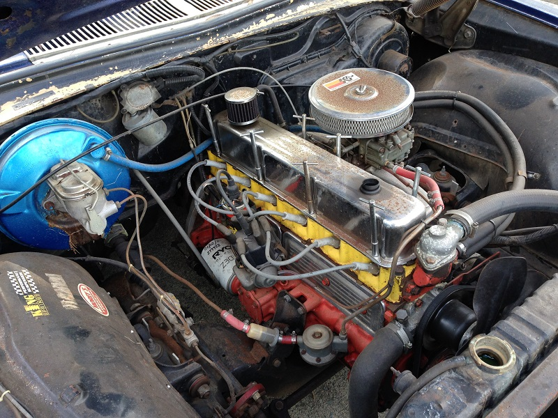 Holden HJ ute 1 tonner Restoration - Ol' School Garage (9).JPG