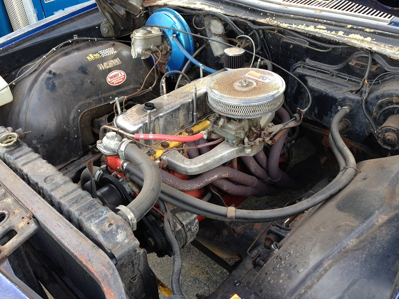 Holden HJ ute 1 tonner Restoration - Ol' School Garage (10).JPG