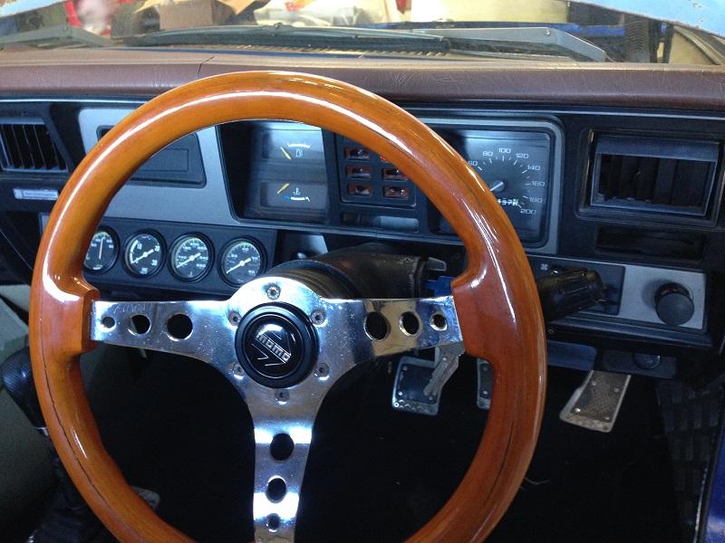 Holden HJ ute 1 tonner Restoration - Ol' School Garage (15).JPG
