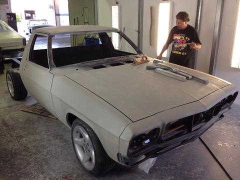 HJ one tonner ute body work - ol' school garage.jpg