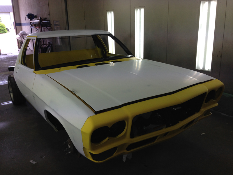 Holden HJ 1 tonner ute restoration - Ol' School Garage - Absinth Yellow (22).jpg