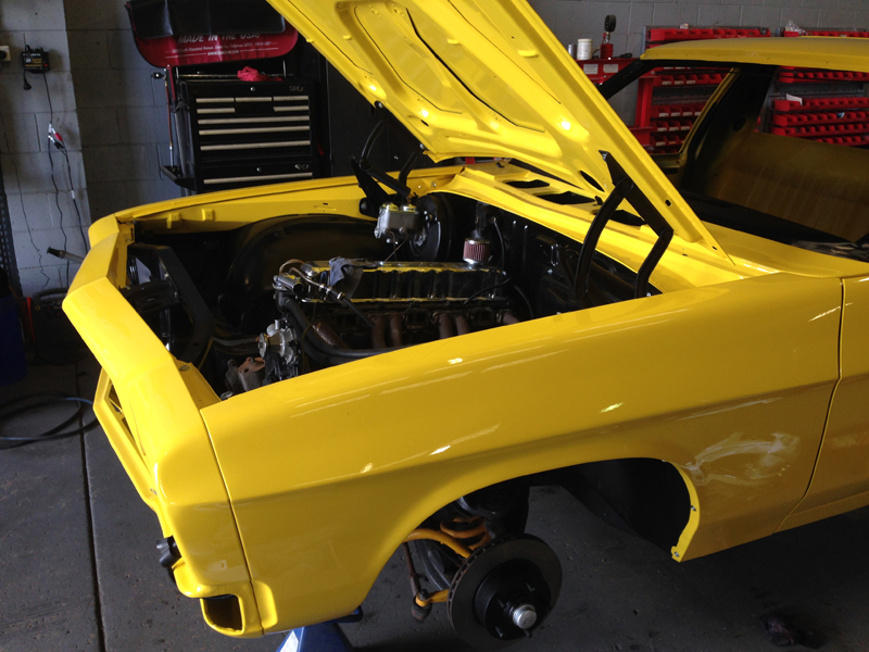 Holden HJ 1 tonner ute restoration - Ol' School Garage - Absinth Yellow (6).jpg