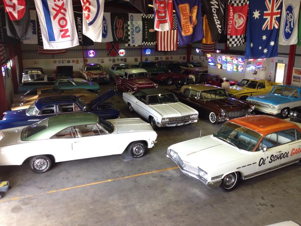 Room To Move Ol School Garage