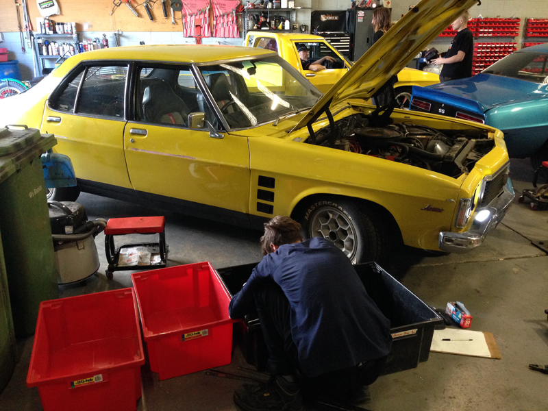 Holden HJ GTS - Restoration - Ol' School Garage (19).jpg