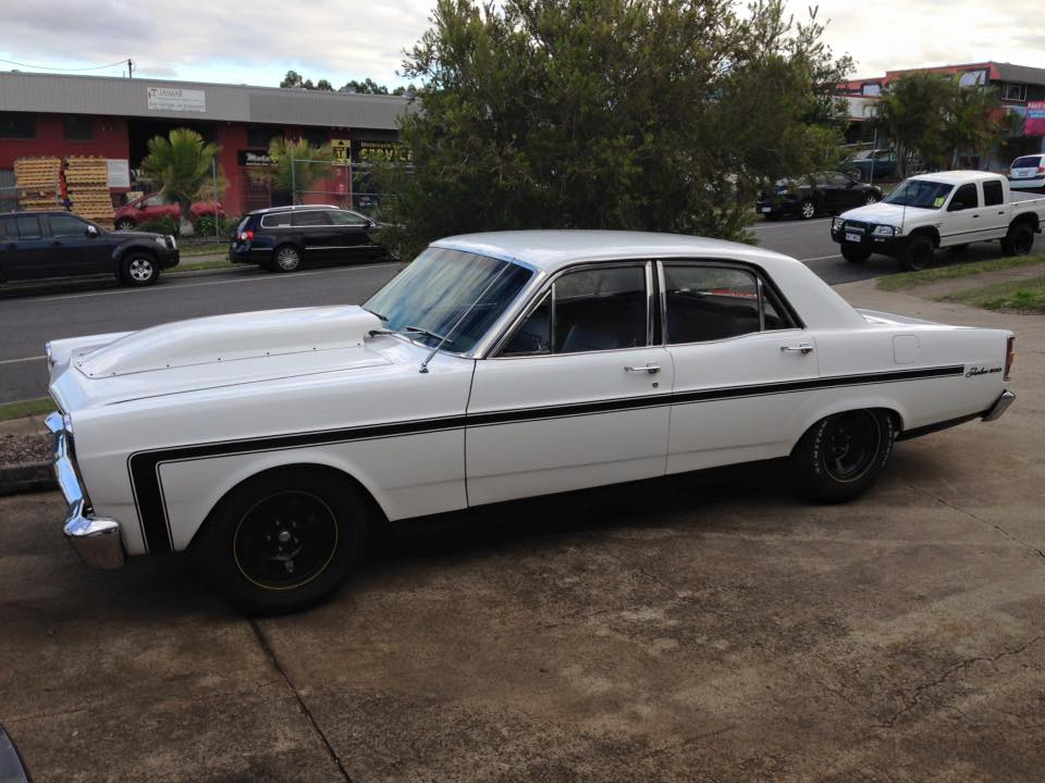 Craig will be test driving my ZC Fairlane so I can take it home for the weekend.