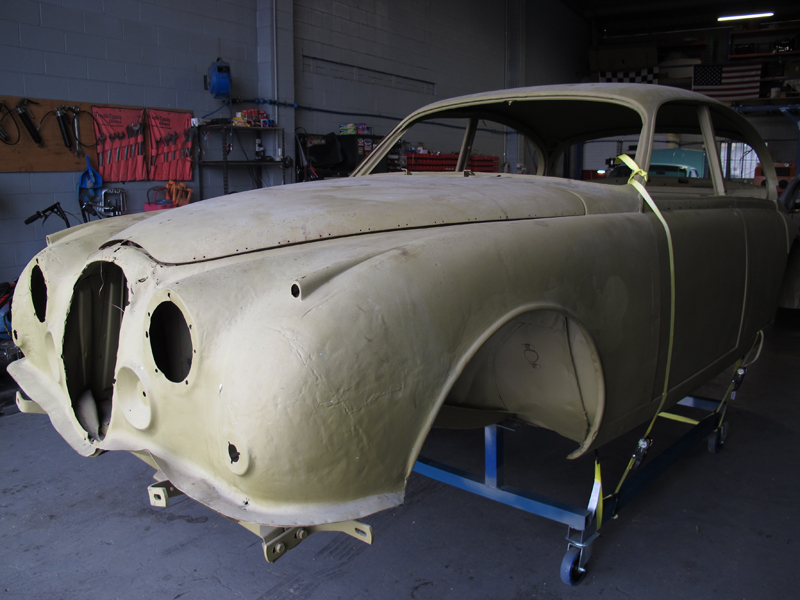 1963 Jaguar Sedan Mk 2 II rust repair restoration (13).jpg