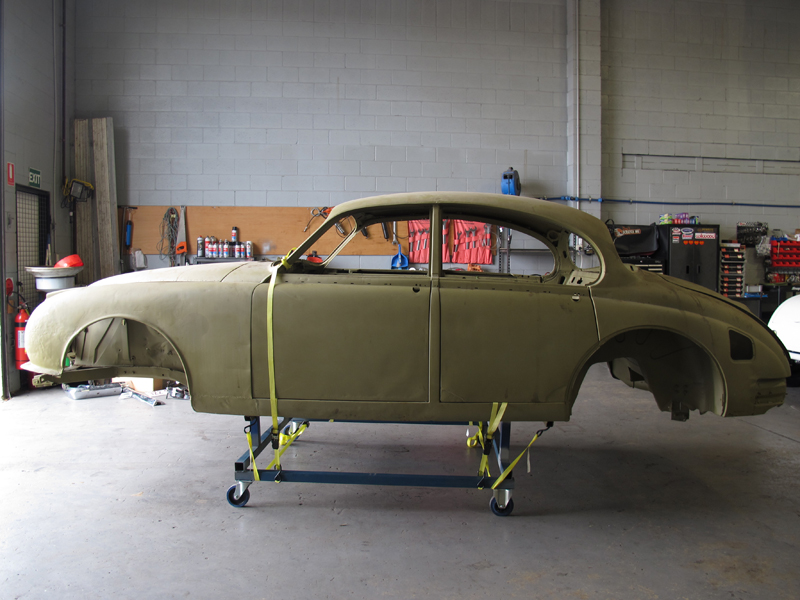 1963 Jaguar Sedan Mk 2 II rust repair restoration (14).jpg
