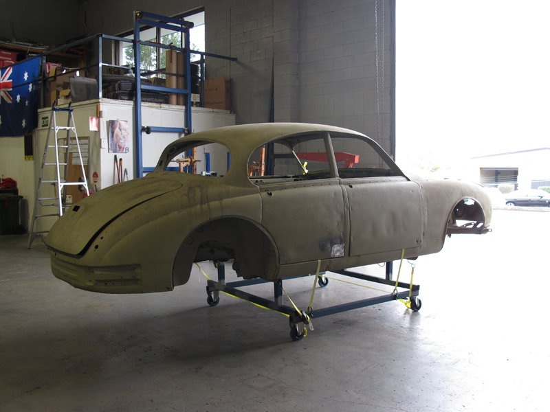 1963 Jaguar Sedan Mk 2 II rust repair restoration (16).jpg