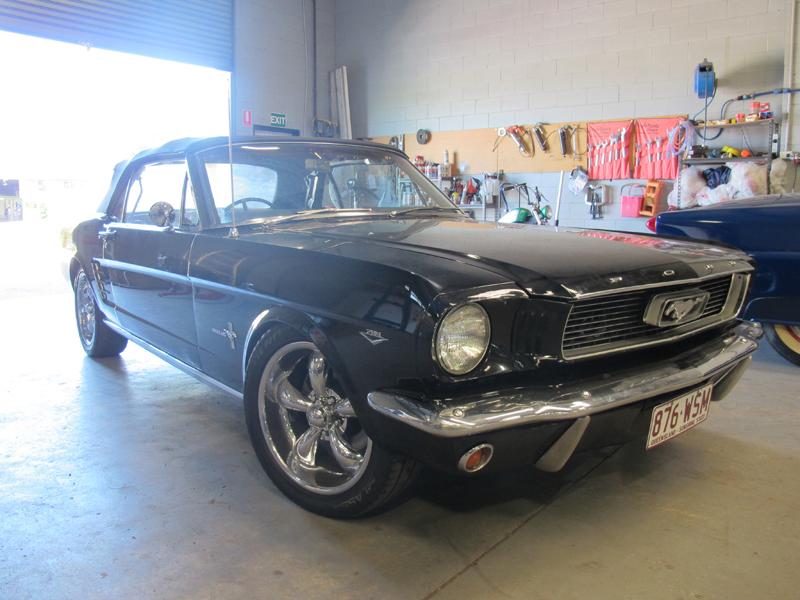 1966 Ford Mustang Convertible - Undergoing Restoration at Ol' Schoool Garage Brisbane (5).jpg