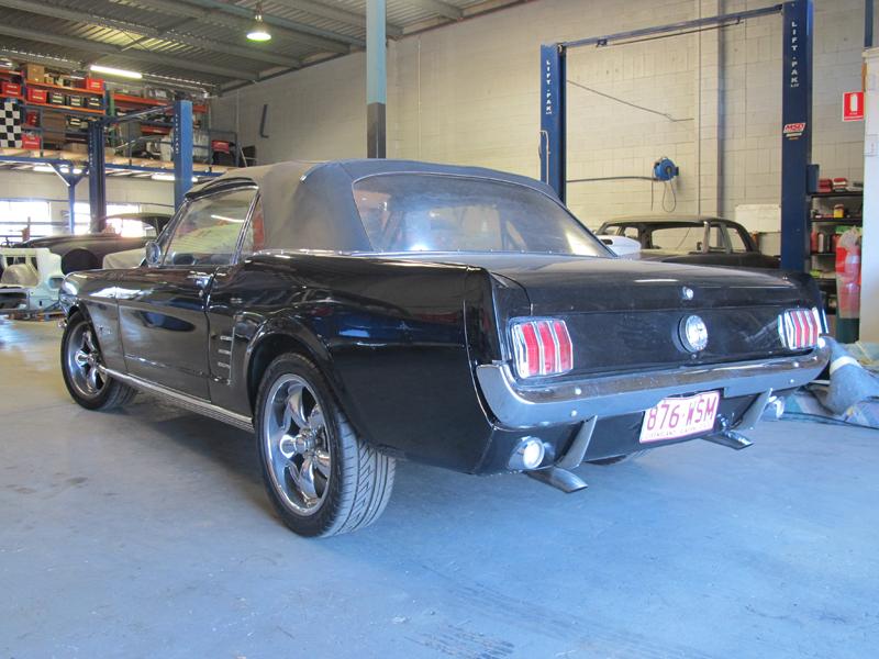 1966 Ford Mustang Convertible - Undergoing Restoration at Ol' Schoool Garage Brisbane (8).jpg