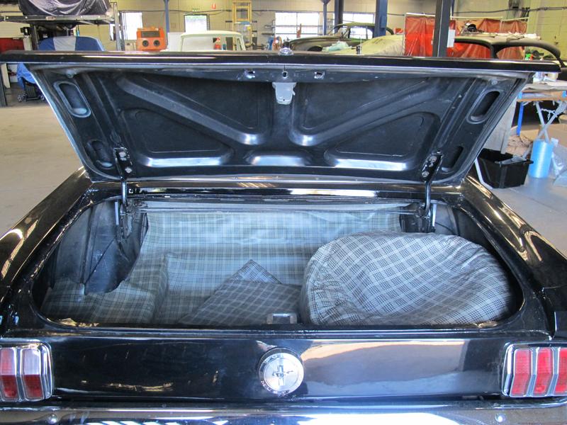 1966 Ford Mustang Convertible - Undergoing Restoration at Ol' Schoool Garage Brisbane (2).jpg