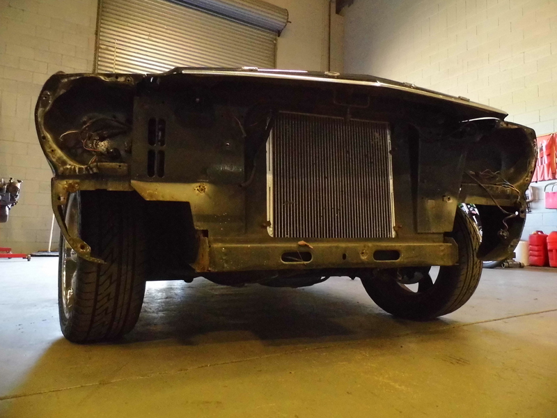 1966 Ford Mustang Convertible - Undergoing Restoration at Ol' Schoool Garage Brisbane (4).jpg