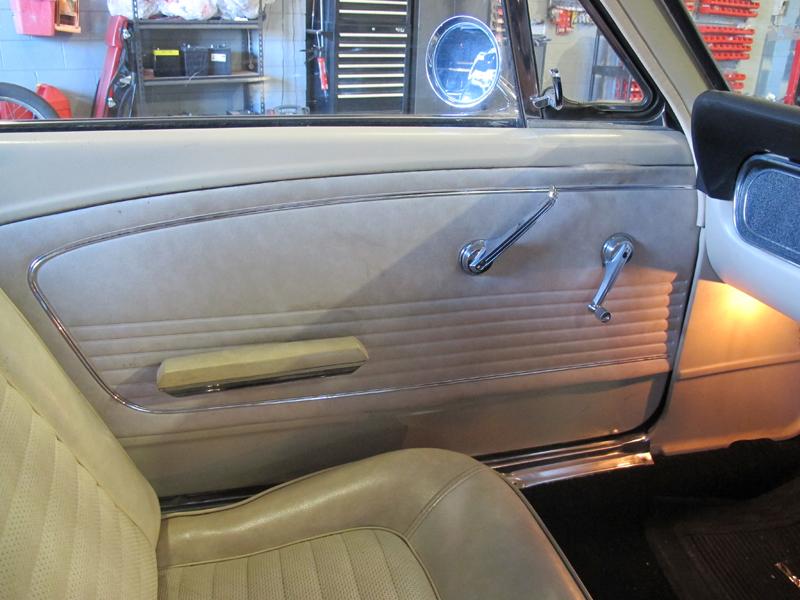 1966 Ford Mustang Convertible - Undergoing Restoration at Ol' Schoool Garage Brisbane (13).jpg