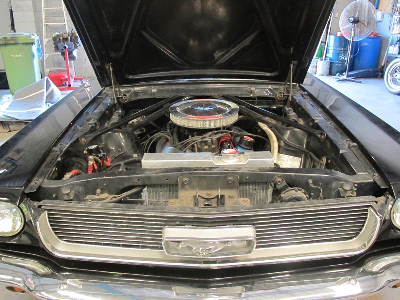 1966 Ford Mustang Convertible - Undergoing Restoration at Ol' Schoool Garage Brisbane (9).jpg