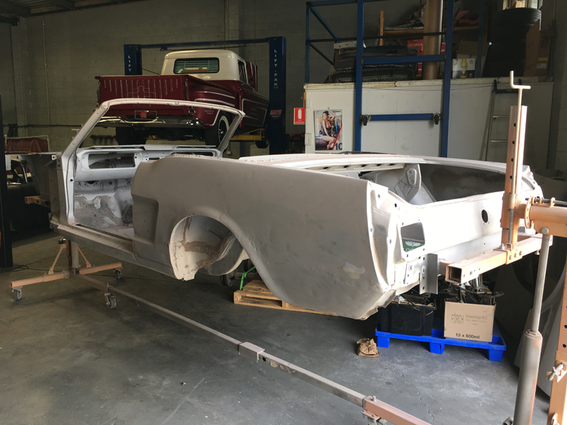 66 Mustang convertible - Australian Restoration by Ol' School Garage (3).jpg