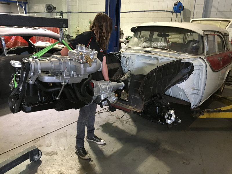 Holden FB Station Wagon - 202ci supercharged engine - ol' school garage (44).jpg