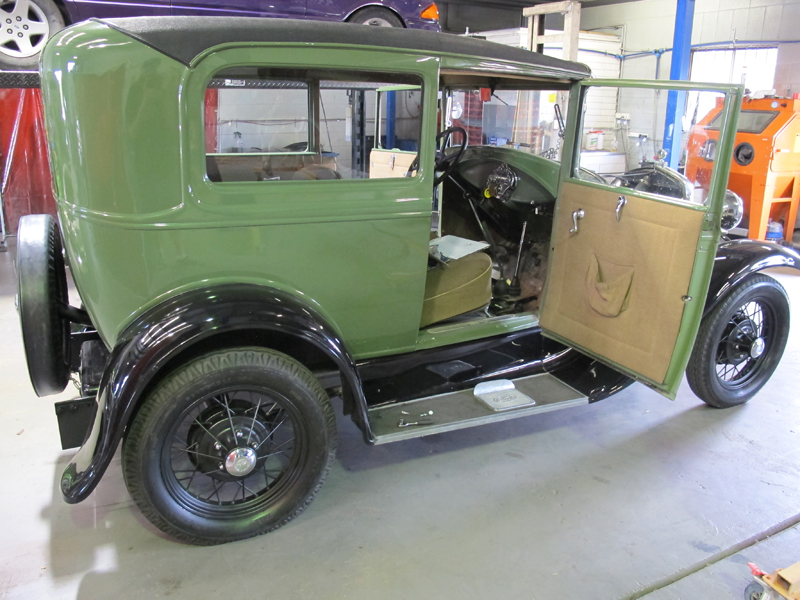 1930 Ford Tudor - ol' school garage (8).jpg