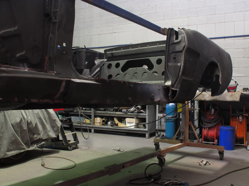 Automotive Restoration - Brisbane Queensland - Ol' School Garage - Ford Mustang Convertible (10).jpg