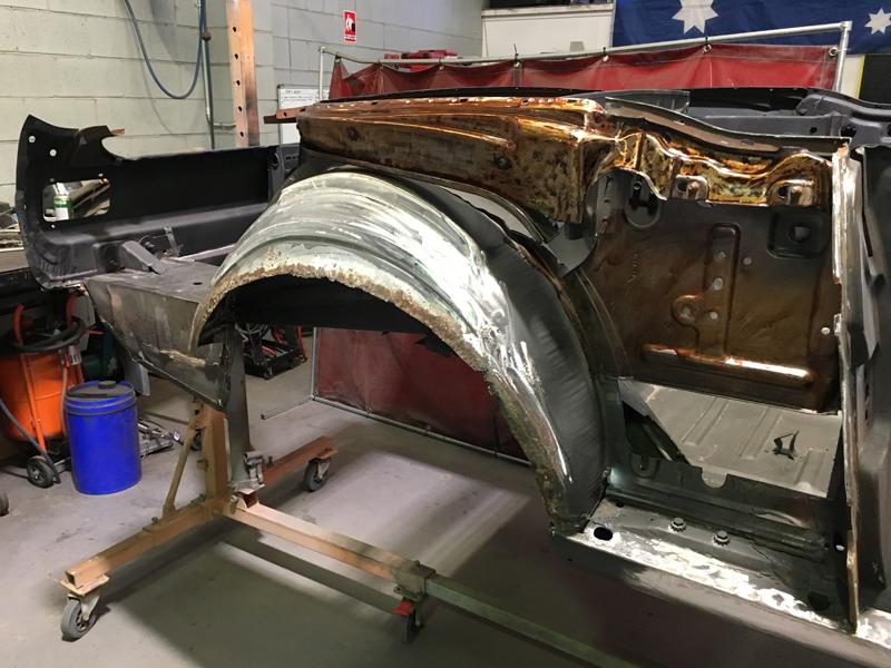 Automotive Restoration - Brisbane Queensland - Ol' School Garage - Ford Mustang Convertible (2).jpg