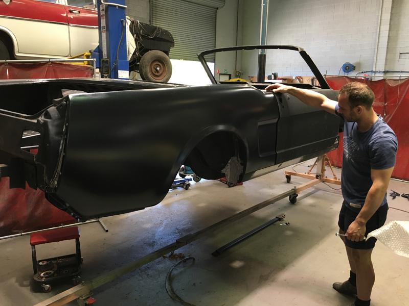Automotive Restoration - Brisbane Queensland - Ol' School Garage - Ford Mustang Convertible (4).jpg