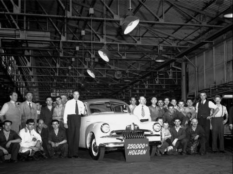 The 250,000th Holden