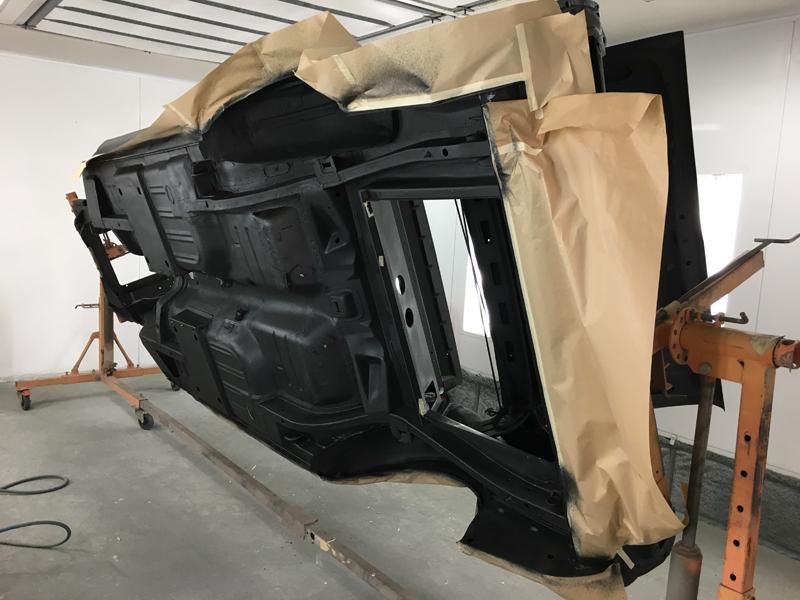 Brisbane 1966 Ford Mustang Convertible - Restoration Project Build - Ol' School Garage (18).jpg