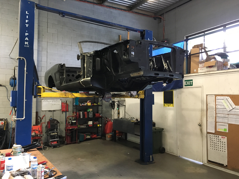 Brisbane 1966 Ford Mustang Convertible - Restoration Project Build - Ol' School Garage (26).jpg
