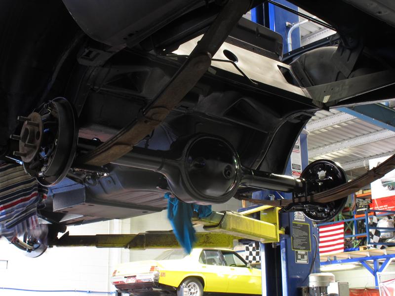 Brisbane 1966 Ford Mustang Convertible - Restoration Project Build - Ol' School Garage (32).jpg