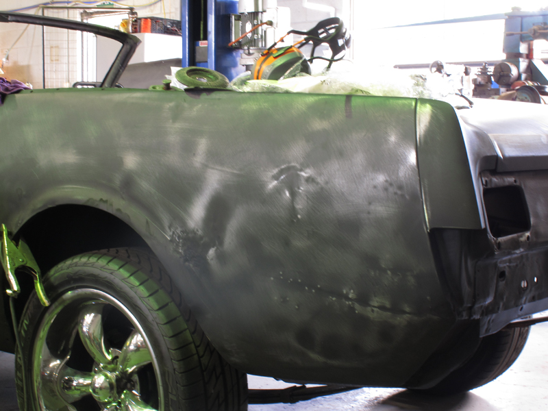 Brisbane 1966 Ford Mustang Convertible - Restoration Project Build - Ol' School Garage (44).jpg